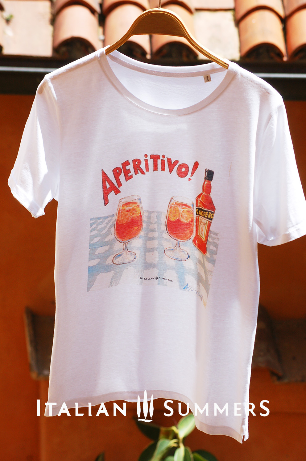 Best Travel Mugs >> T-shirt APERITIVO APEROL! The legendary Aperol Spritz T-SHIRT! Ciao!