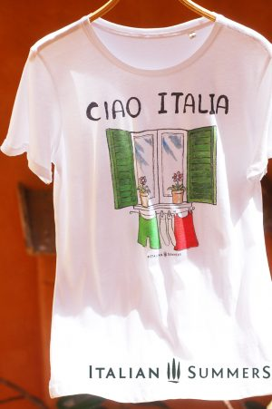 T-shirt CIAO ITALIA by Italian Summers