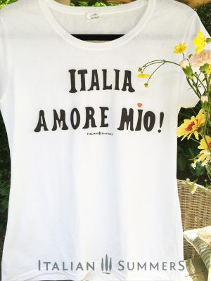 T shirt ITALIA AMORE MIO by Italian Summers