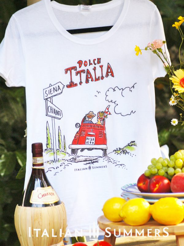 ITALIAN ROAD TRIP T-shirt by Italian Summers