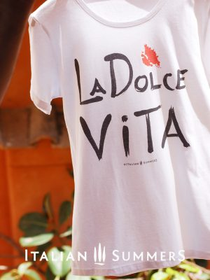 T-shirt LA DOLCE VITA by Italian Summers