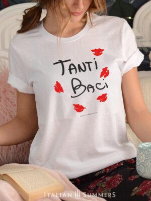 T shirt TANTI BACI by Italian Summers