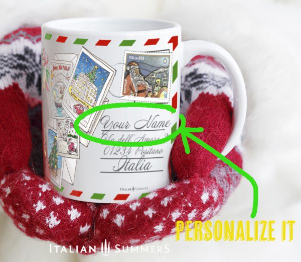 TRIP TO ITALY Italian Christmas coffee mug by Italian Summers