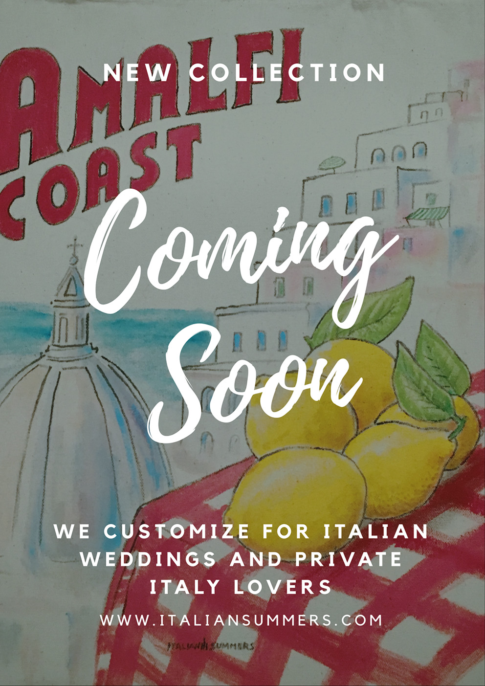 Tote bag Amalfi Coast, Positano by Italian Summers