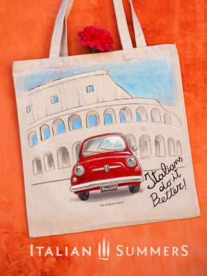 Canvas bags Italian Style