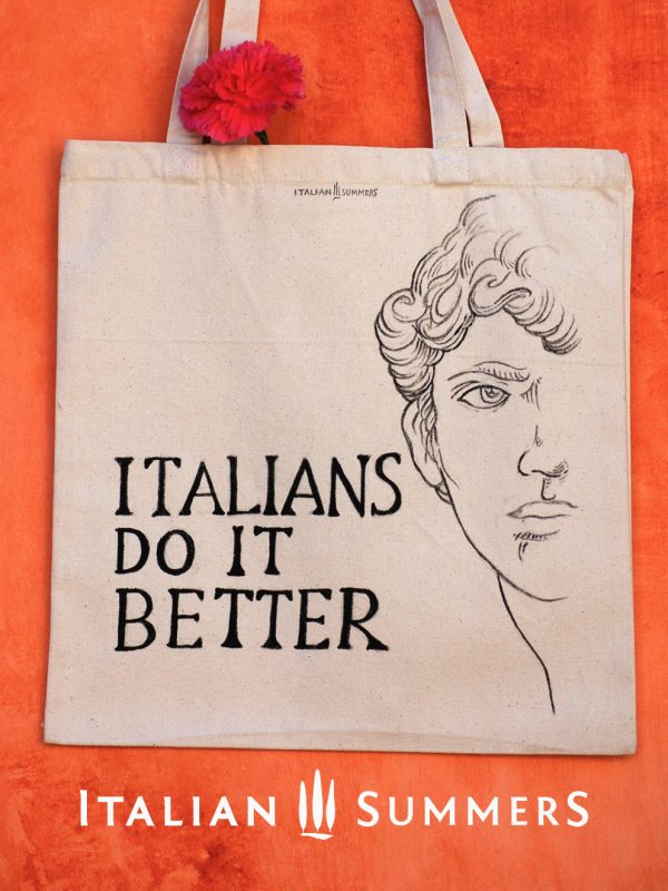 Totebag ITALIANS DO IT BETTER Michelangelo by Italian Summers