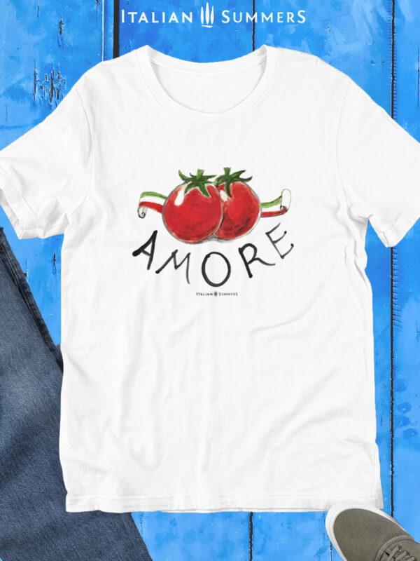 Tshirt AMORE & POMODORI by Italian Summers