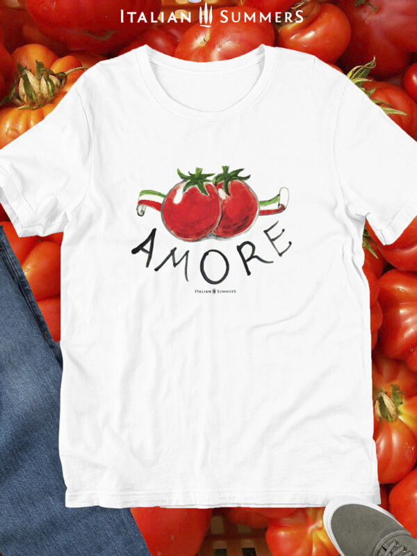 T Shirt Amore & Pomodori by Italian Summers