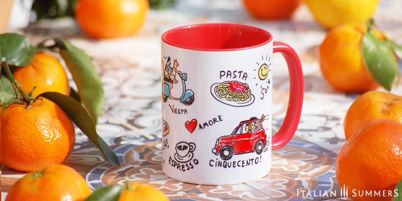 VITA ITALIANA Italian Classics mug by Italian Summers