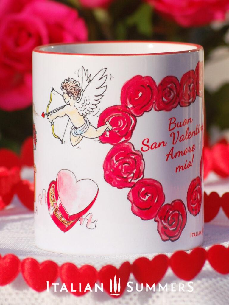 Valentine Mug AMORE PER SEMPRE by Italian Summers: Valentine's day mugs by Italian Summers