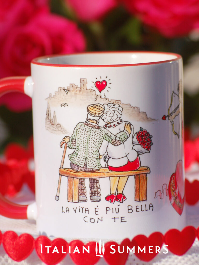 Valentine Mug AMORE PER SEMPRE by Italian Summers