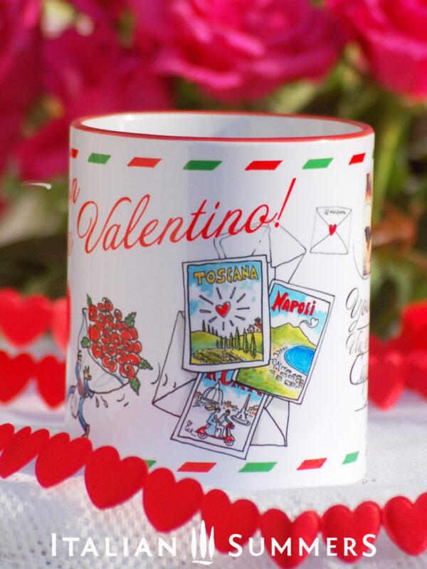 Valentine Mug BUON SAN VALENTINO by Italian Summers