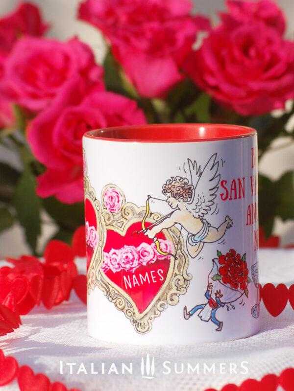 Valentine Mug SACRED HEART by Italian Summers
