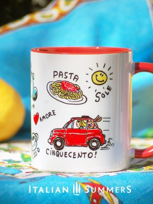 Vita Italiana, Italian Lifestile, mug by Italian Summers