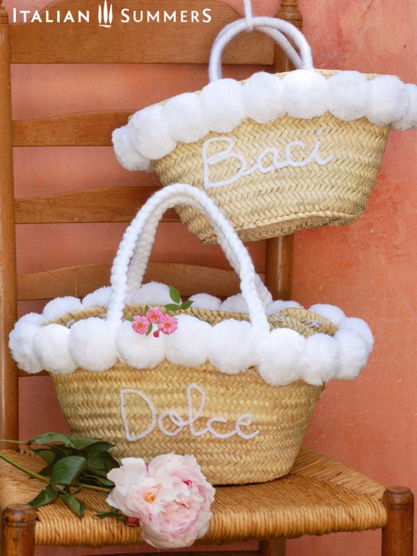 Wedding Gift Straw bags Straw bag by Italian Summers