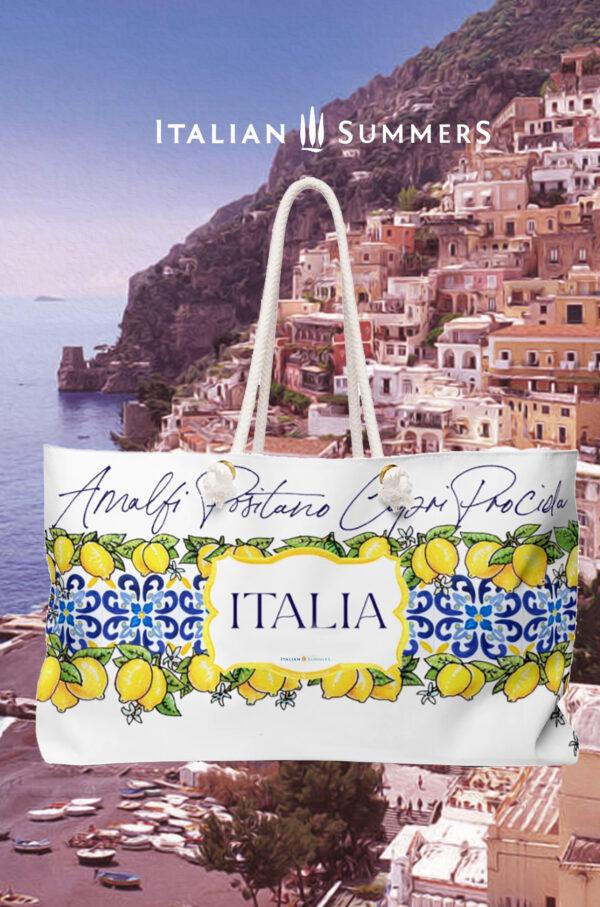 XL Beach Bag COSTIERA by Italian Summers