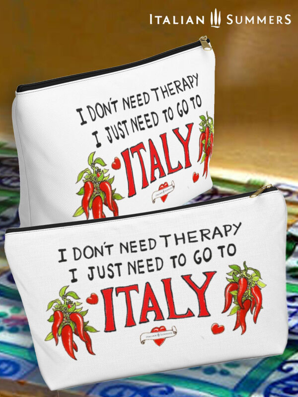 clutch-i-dont-need-therapy-just-italy by Italian Summers